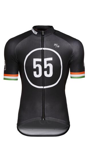 Bioracer Eschborn-Frankfurt 55 Pro Race Jersey korte mouwen Heren zwart